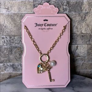Juicy Couture Necklace ❤️ 🔑 👑